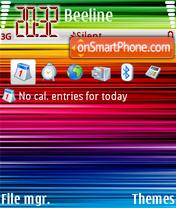 Rainbow 04 theme screenshot