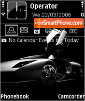 Murcielago V2 theme screenshot
