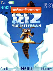 Ice age2 theme screenshot