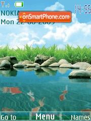 Скриншот темы Little lake