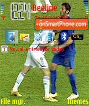 Headbutt Zidane Materazzi es el tema de pantalla