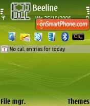 Music Edition theme screenshot