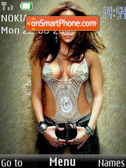 Jennifer Lopez tema screenshot