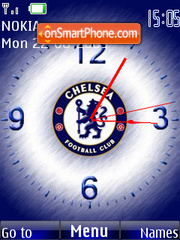 Chelsea Clock theme screenshot
