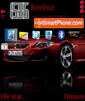 Скриншот темы BMW M6