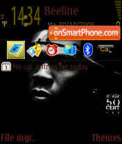 50 Cent v2 theme screenshot