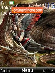 Capture d'écran Dragons thème
