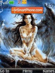 Скриншот темы Angels and daemons