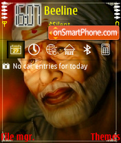 SaiBaba theme screenshot