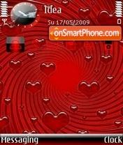 Скриншот темы Raining Love