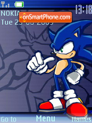 Sonic 12 theme screenshot