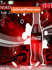 Coca Cola 11 theme screenshot