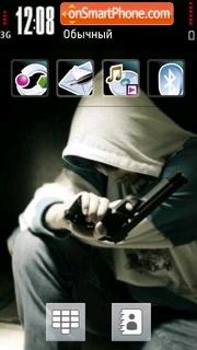 Shooter 01 theme screenshot