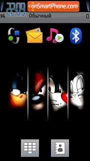 Looney Toons theme screenshot