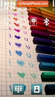 Love U 03 theme screenshot
