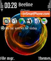 Скриншот темы Firefox Crystal