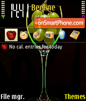 Tutti Frutti 01 theme screenshot
