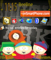 South Park 09 theme screenshot
