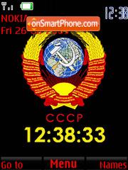 USSR (SWF Clock) tema screenshot