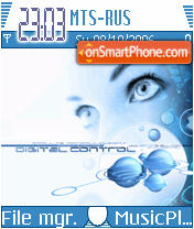 Digital Contro es el tema de pantalla