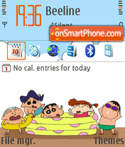 Sunny FP1 def theme screenshot