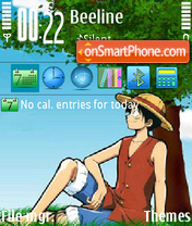 Luffy 01 theme screenshot
