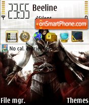 Assassin creed 01 theme screenshot