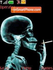 Funny smoking theme screenshot