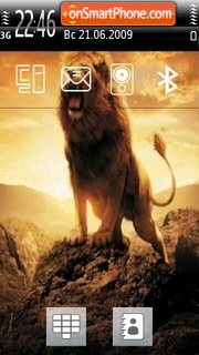 Majestic Lion theme screenshot