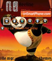 KungFu Panda 02 theme screenshot