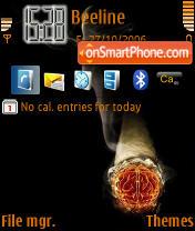 Smoking theme screenshot