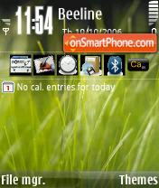 Vista Grass theme screenshot