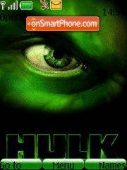 Hulk 02 theme screenshot