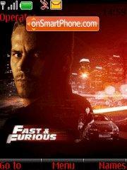 Скриншот темы Fast N Furious 01