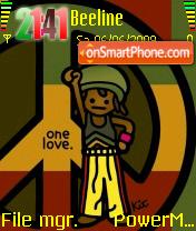 One Love 01 theme screenshot