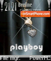 Play Boy 01 theme screenshot
