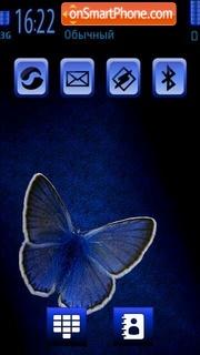 The blue Butterfly es el tema de pantalla