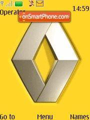 Скриншот темы Renault