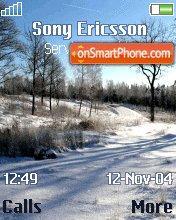 Snow es el tema de pantalla