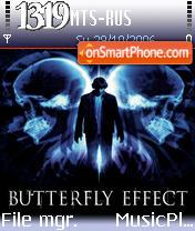 Butterfly Effect theme screenshot