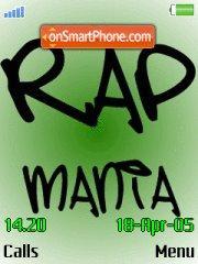 Rap mania es el tema de pantalla