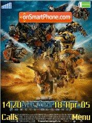 Скриншот темы Transformers 2