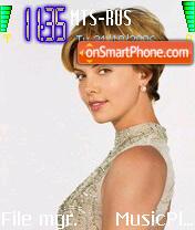 Charlize Theron 3 theme screenshot
