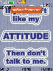 Attitude theme screenshot