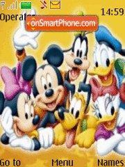 Disney es el tema de pantalla