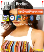 Sneha Ullal theme screenshot