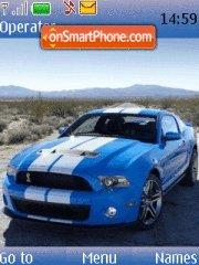 Shelby Gt500 2010 tema screenshot