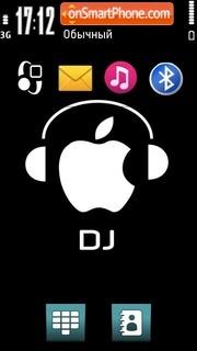 Apple dj tema screenshot