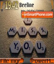 I Miss You 05 es el tema de pantalla