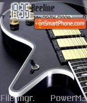 Guitar 03 es el tema de pantalla